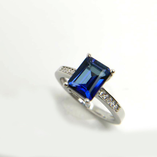 cut ring inc csupload lananeimannyc emerald cocktail tanzanite rings