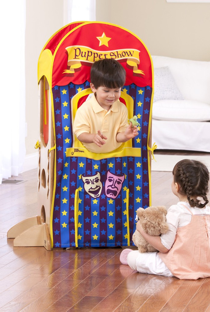 Optional Playhouse Kits: Popcorn Stand/Puppet Show