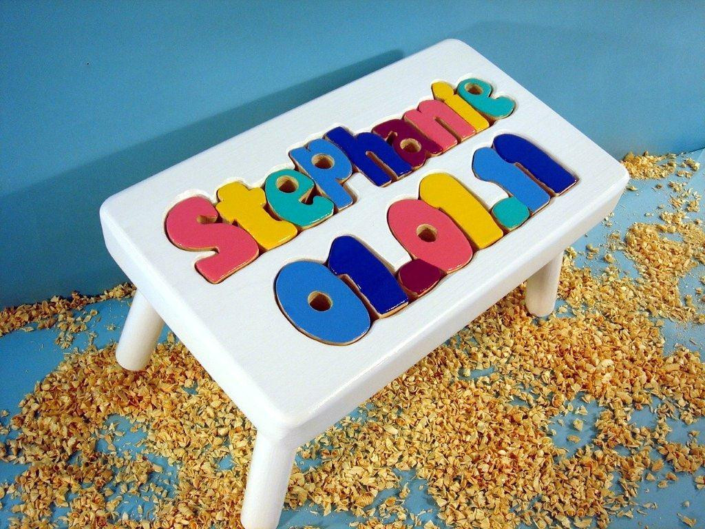 shown with jewel letters