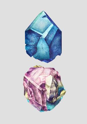 Amazonite and Morganite