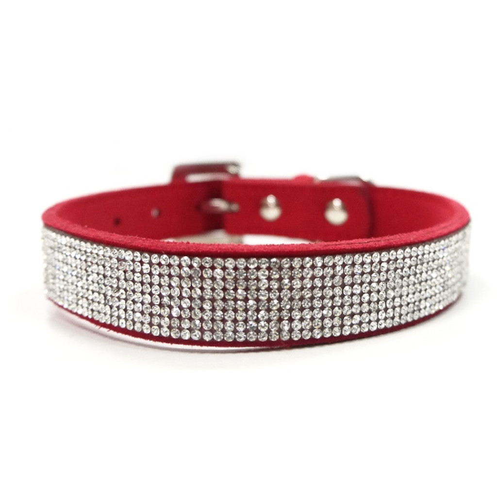 Red VIP Bling Collar