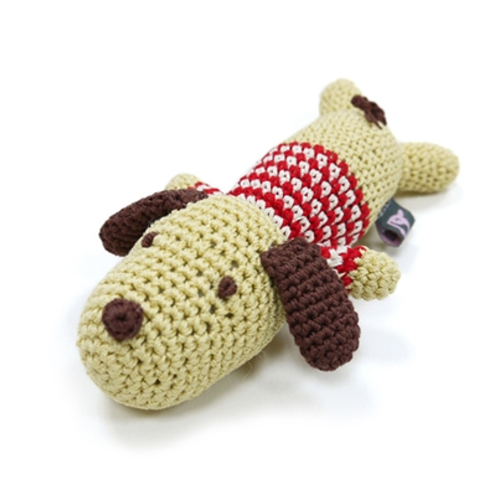 PAWer Squeaky Toy - Lazy Dog