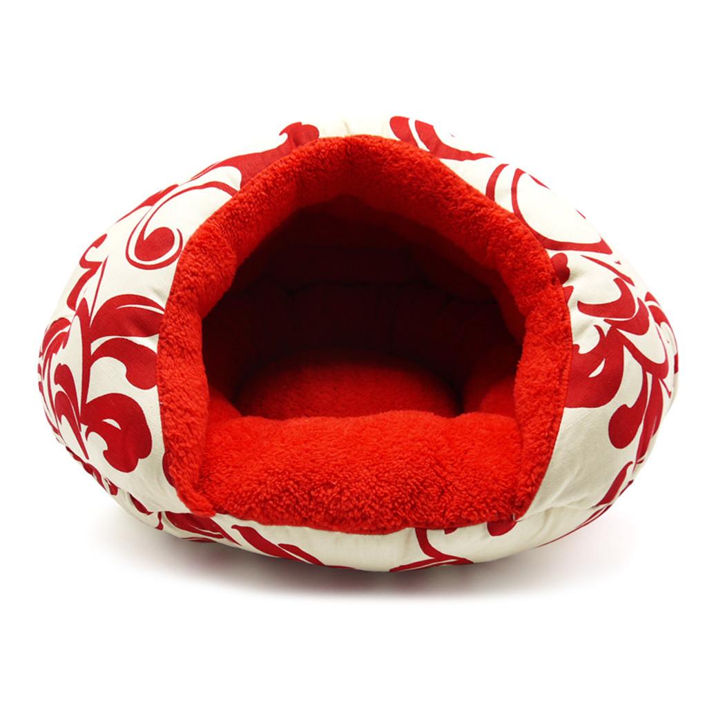 Burger Bed Red Floral