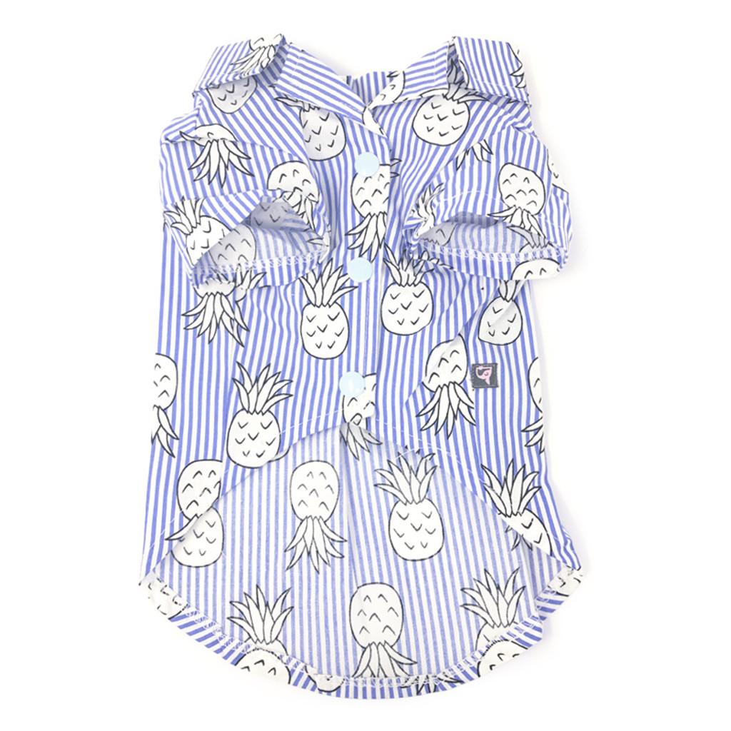 Pineapple Shirt Blue