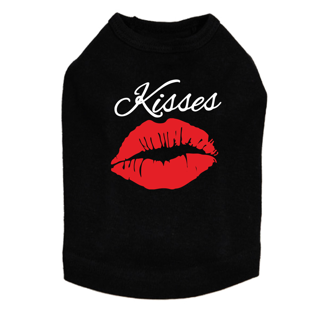 Lip Kisses - Dog Tank