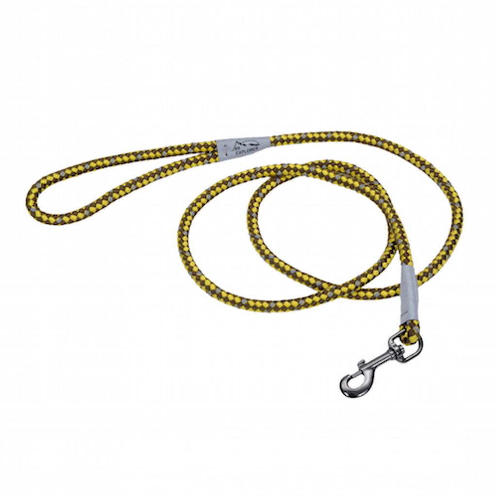 K9 Explorer 6' Rope Leash - Golden Rod Yellow