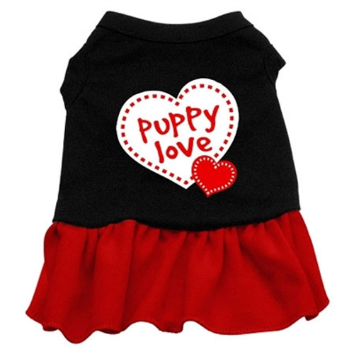 Puppy Love Screen Printed- Red