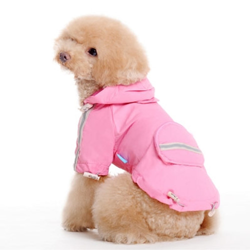 Pink Pocket Raincoat V2
