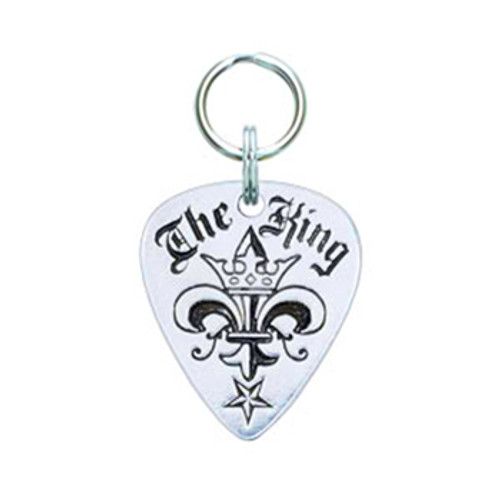 The King Guitar Pick Tag