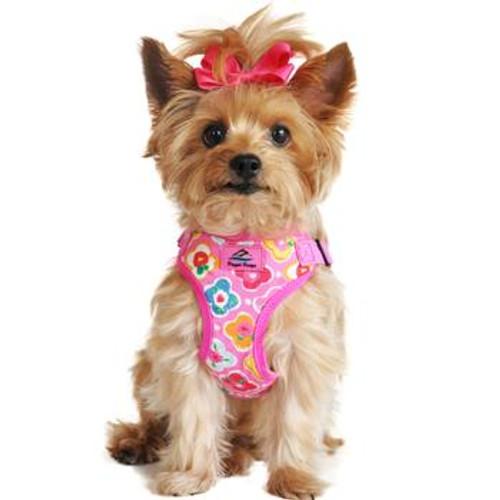 Wrap and Snap Choke Free Dog Harness - Maui Pink