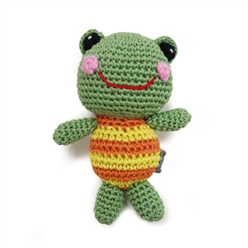 PAWer Squeaky Toy - Frog Doll