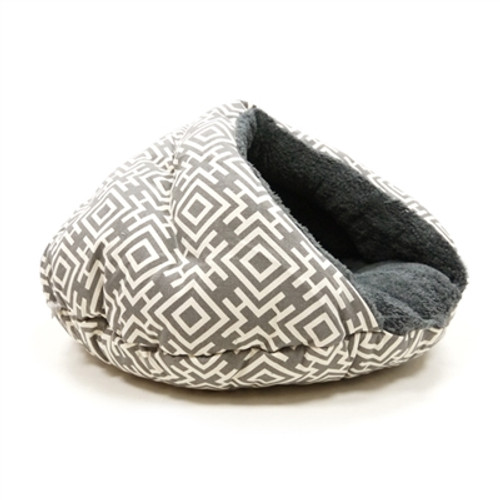 Burger Bed Modern Gray