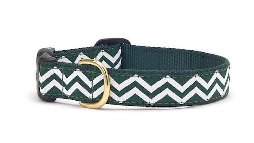 Green White Chevron