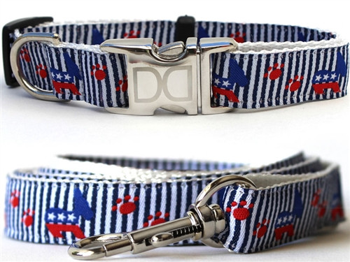 Democrat Doggie Collection - All Metal Buckles