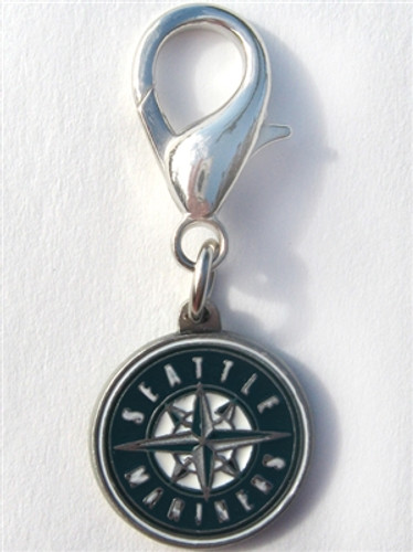 MLB™ Licensed Seattle Mariners Logo Collar Charm