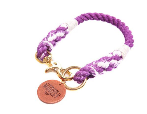 Purple Ombré Dog Collar