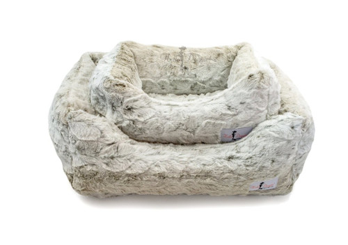 Luxe Beds - Snow Leopard