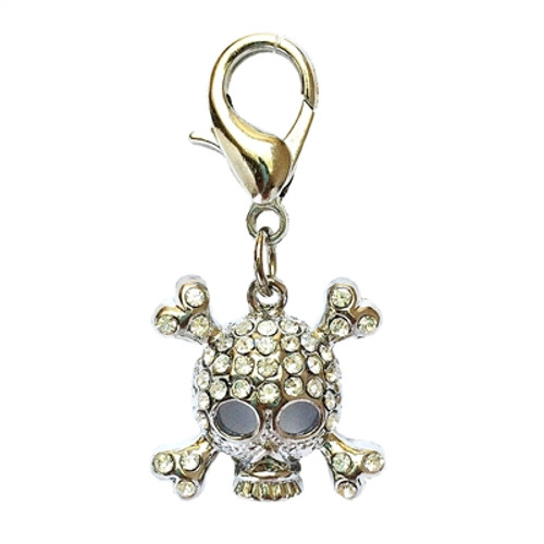 Punky Pirate Clip on Collar Charms
