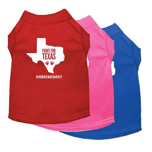 Paws for Texas Dog Tank