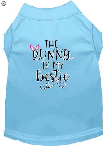 Bunny is my Bestie Screen Print Dog Shirt