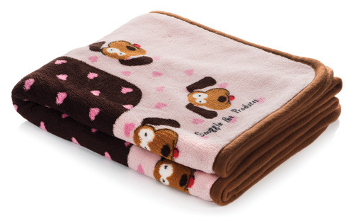 Smart Pet Love Soft Snuggle Blanket for Warmth & Comfort For Puppy - It's a Girl