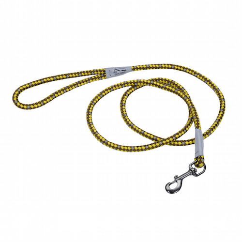 K9 Explorer 6' Rope Leash - Golden Rod Yellow