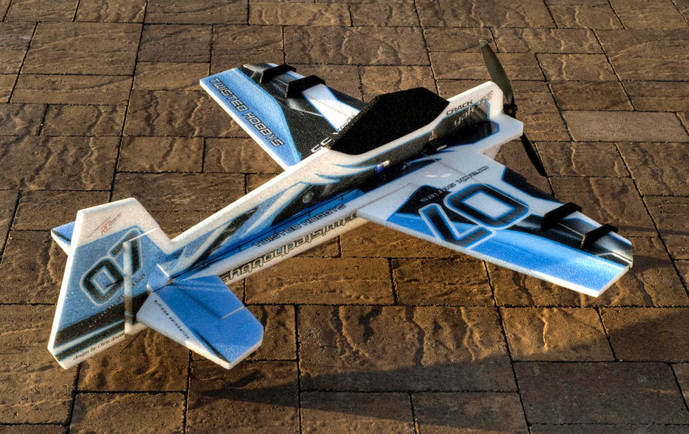 "TH 32"" EPP Crack Yak-55 Blue w/ HD Landing Gear"