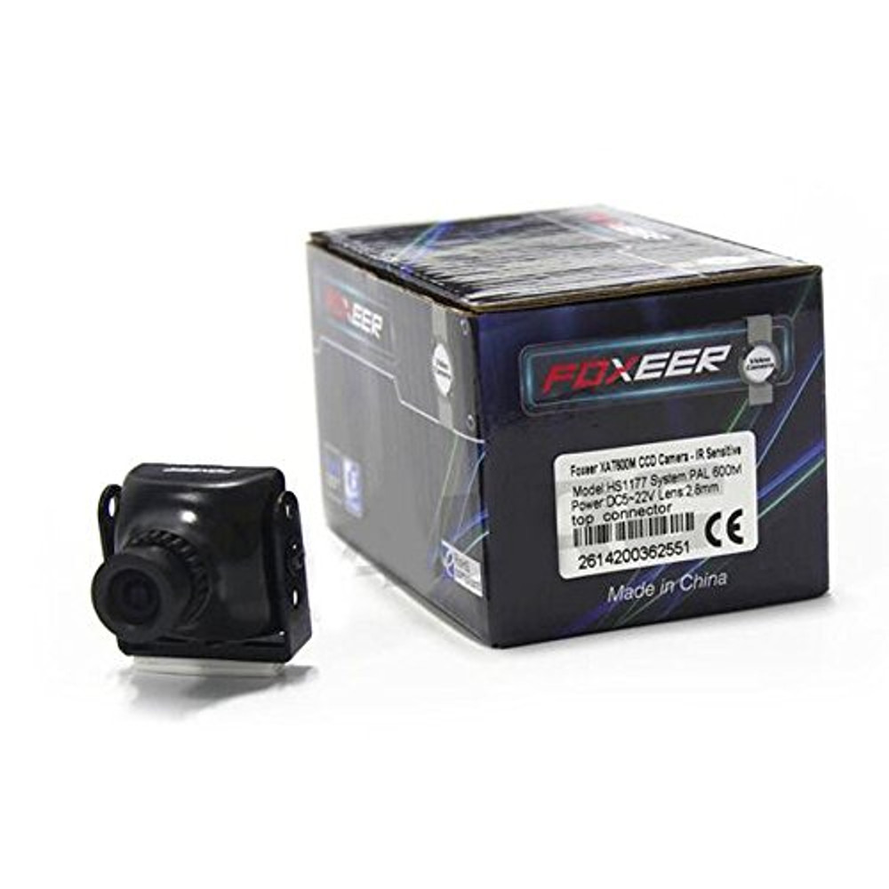 Foxeer XAT600M HS1177 600TVL CCD 2.8MM IR Mini FPV Camera  NTSC