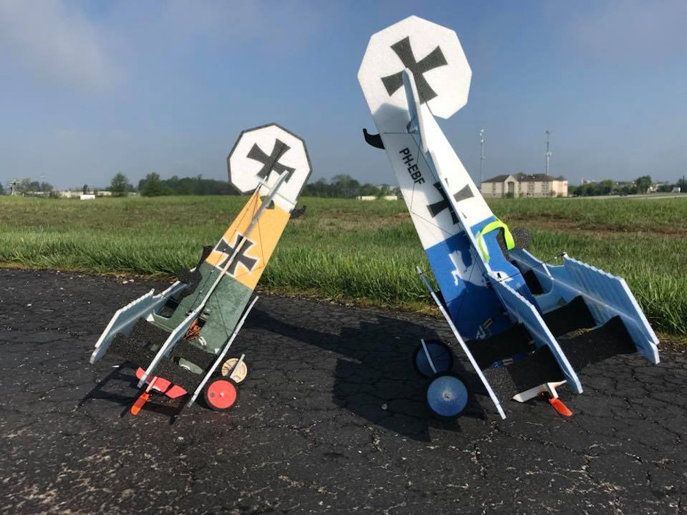 "TH 26"" EPP LiL Fokker Dr.1 - Yellow"