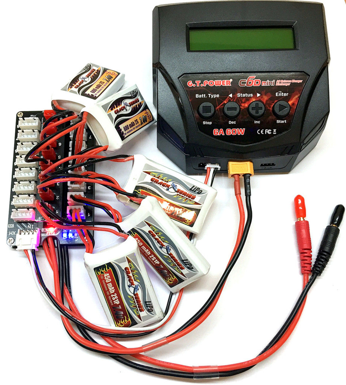 2s 3s Balance Charging Board Wiring Rc Batteries Parallel Lipo Jst Connector Pro