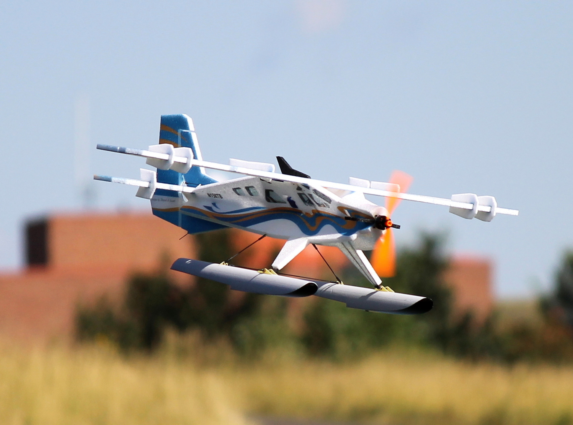 Twisted Hobbys 35 Quot Epp Crack Turbo Beaver Rc Foam 3d Plane