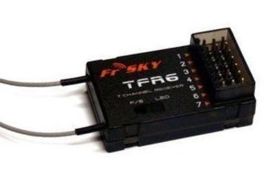 FrSky 7ch TFR6 2.4Ghz Fasst/Futaba Compatible Receiver