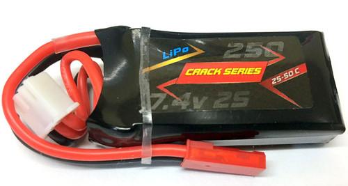 Lipo Crack Pro Series 2S 250mah 25~50C