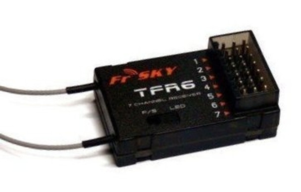 FrSky 7ch TFR6 2.4Ghz Fasst/Futaba Compatible Receiver