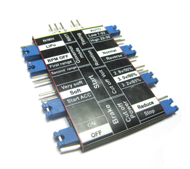 ESC Programming Card Crack Series