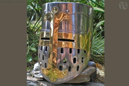 Crusader, Great, Helm, armour, helmet