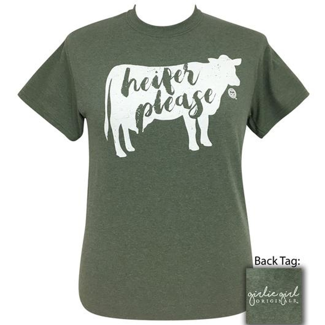 Heifer Please Short Sleeve Tee Cordial Lee Girlie Girl Originals