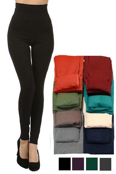 Control Top Fleece Leggings
