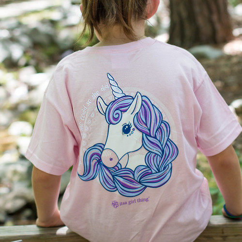 YOUTH Unicorn Short Sleeve Tee
