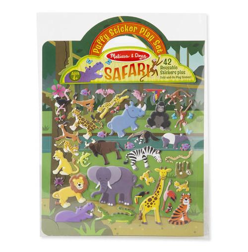 Puffy Sticker Play Set - Safari