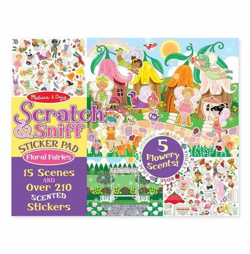 Scratch & Sniff Floral Fairies