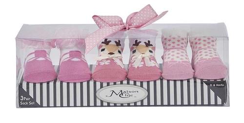 Sock Gift Set - Farrah Fawn
