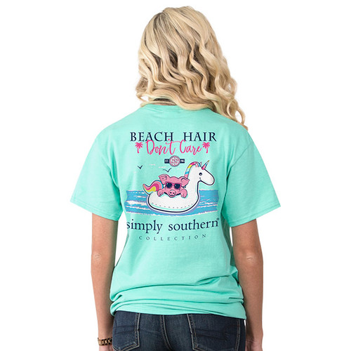 Simply Southern SS Tee - Preppy Beach Float