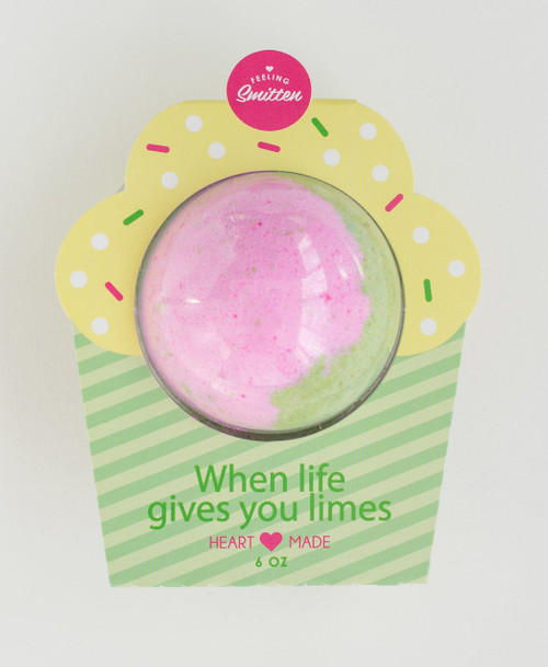 When Life Gives You Limes Bath Bomb - Clamshell