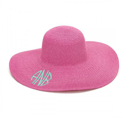 Floppy Sun Hat - Hot Pink