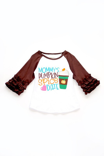 Mommy's Pumpkin Spice Date Top