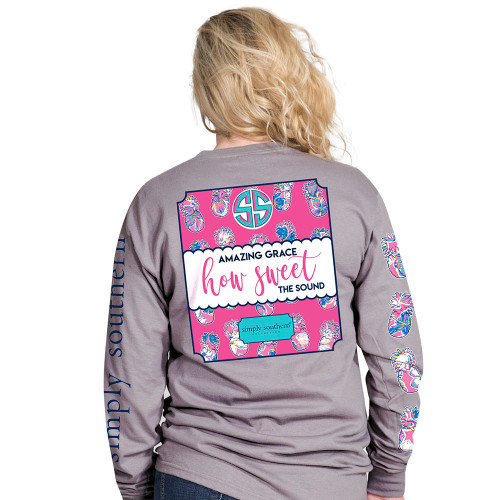 Simply Southern LS Tee - Sweet