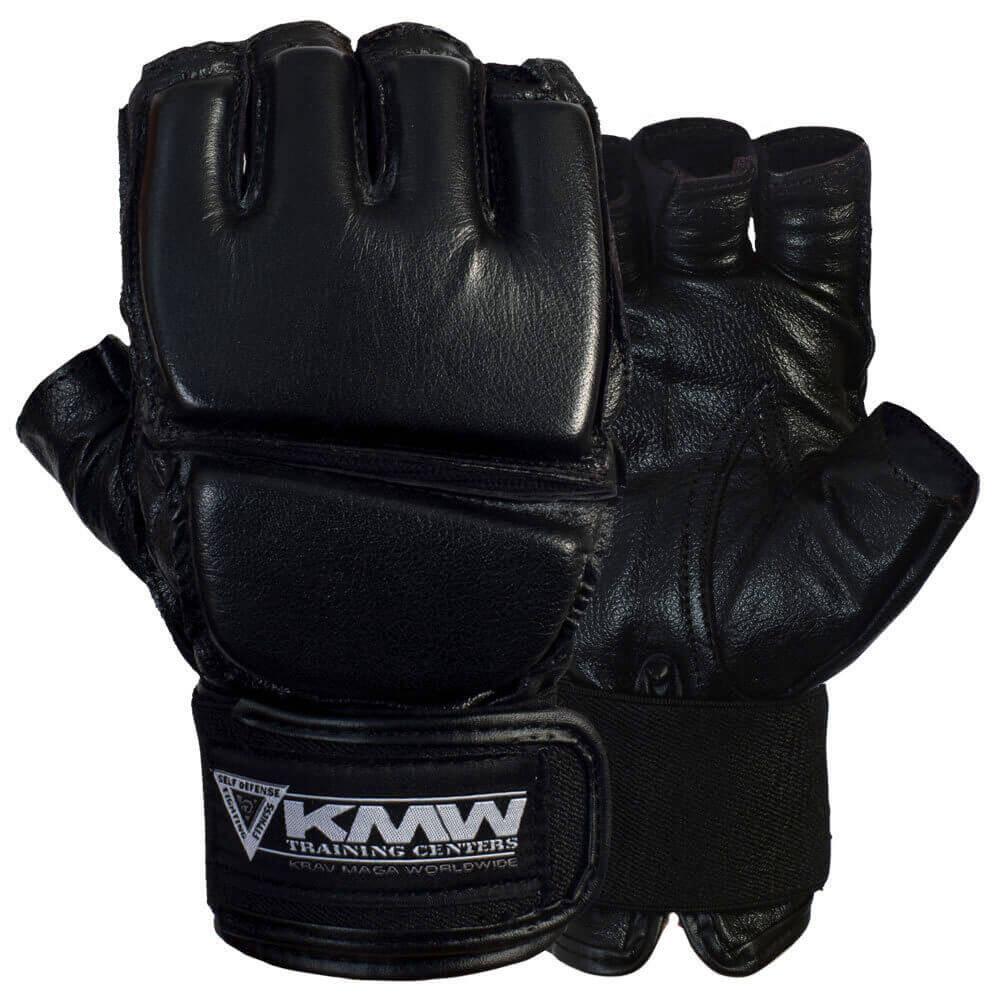 Krav Maga Leather Grappling Gloves