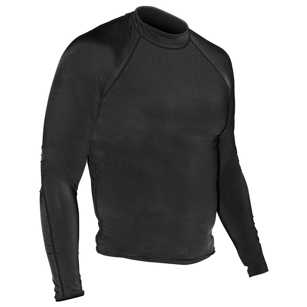 Solid Rash Guard - Long Sleeve