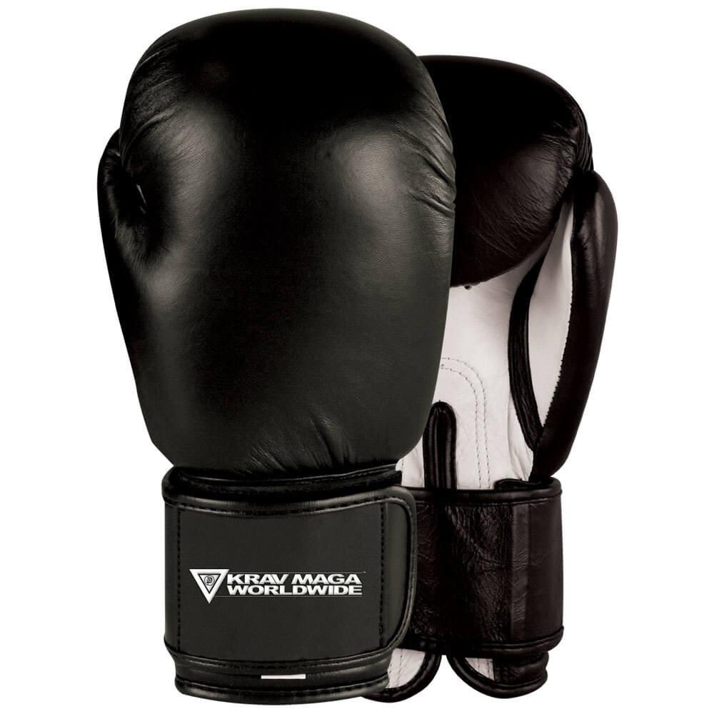 Shiv Naresh Teens Boxing Gloves 12oz: Krav Maga Leather Boxing Gloves